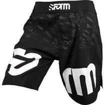 Black Team MMA Fight Shorts